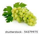 fresh grape fruits with green...   Shutterstock . vector #54379975