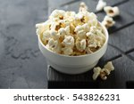 homemade popcorn   Shutterstock . vector #543826231