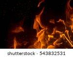 fire | Shutterstock . vector #543832531