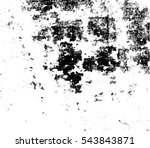 grunge black and white urban... | Shutterstock .eps vector #543843871