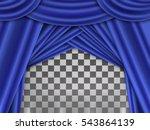 Blue Curtain  Blue Curtain On...