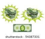 stunt of money | Shutterstock .eps vector #54387331