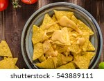 Nachos With Homemade Cheese Di...