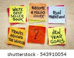 become a millionaire and other... | Shutterstock . vector #543910054