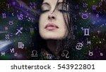 astrology  twelve zodiac signs | Shutterstock . vector #543922801