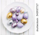 Trendy Painted Easter Eggs On ...