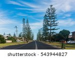 residential road in yamba ... | Shutterstock . vector #543944827