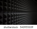 Small photo of Close up of studio sound acoustical foam Background