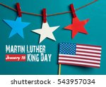 martin luther king day... | Shutterstock . vector #543957034