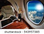 luxury interior in the modern ...   Shutterstock . vector #543957385