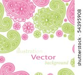 Vector Glamour Paisley Designs.