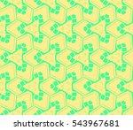 modern stylish texture.stylish... | Shutterstock .eps vector #543967681