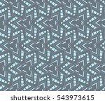 ornamental seamless pattern.... | Shutterstock .eps vector #543973615