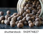 Whole Allspice Spilled From A...