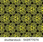 modern stylish texture.stylish... | Shutterstock .eps vector #543977074