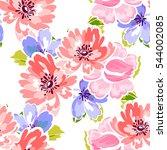 abstract elegance seamless... | Shutterstock . vector #544002085