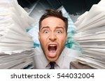 emotional stress. | Shutterstock . vector #544032004