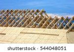 roofing construction. wooden... | Shutterstock . vector #544048051