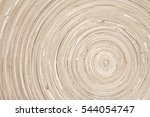 circular wood texture of... | Shutterstock . vector #544054747