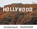 hollywood california   december ... | Shutterstock . vector #544055089