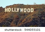 hollywood california   december ... | Shutterstock . vector #544055101