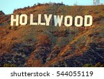 hollywood california   december ... | Shutterstock . vector #544055119