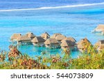 the beautiful sea and resort in ... | Shutterstock . vector #544073809