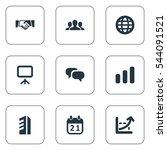 set of 9 simple...   Shutterstock . vector #544091521