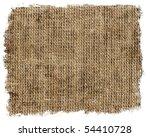 burlap texture   Shutterstock . vector #54410728