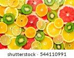 fruit platter | Shutterstock . vector #544110991