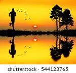 running man | Shutterstock . vector #544123765