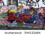 art under ground. beautiful... | Shutterstock . vector #544132684