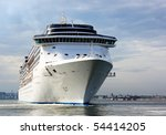 white cruise ship | Shutterstock . vector #54414205
