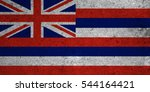 Small photo of graphic american state grunge flag of hawaii