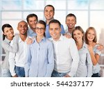 business group. | Shutterstock . vector #544237177