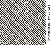 irregular maze line. abstract... | Shutterstock .eps vector #544247185