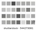 seamless pattern set. vector...