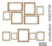 Set Wooden Photo Frames...