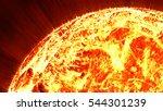 3d sun illustration | Shutterstock . vector #544301239