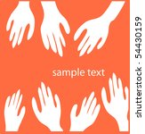 hands | Shutterstock .eps vector #54430159
