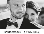 black and white picture of... | Shutterstock . vector #544327819