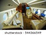 Interior Of Dassault Falcon 8x...
