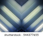 striped luminous structure.... | Shutterstock . vector #544377655