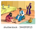 Sinner Maria Washes The Feet O...