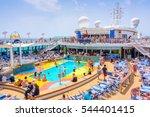 mediterranean sea  june 17 ... | Shutterstock . vector #544401415