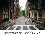 Crosswalk And Street In Beacon...