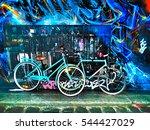 Bicycles And Graffiti