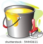 illustration of container with...