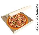 Realistic Illustration Pizza I...