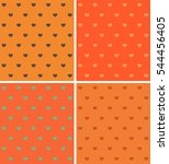 set texture with a pattern in...   Shutterstock .eps vector #544456405